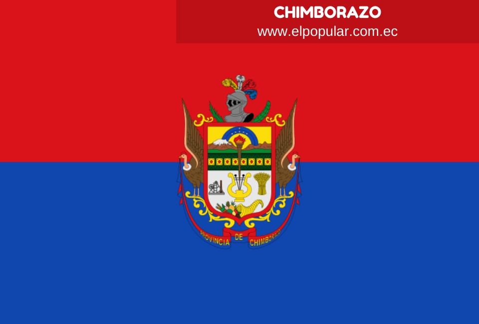 Bandera de la Provincia de Chimborazo
