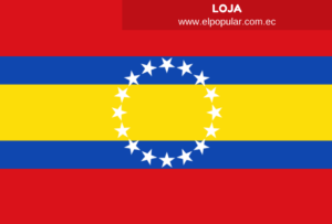 Bandera de la Provincia de Loja