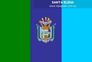 Bandera de la Provincia de Santa Elena